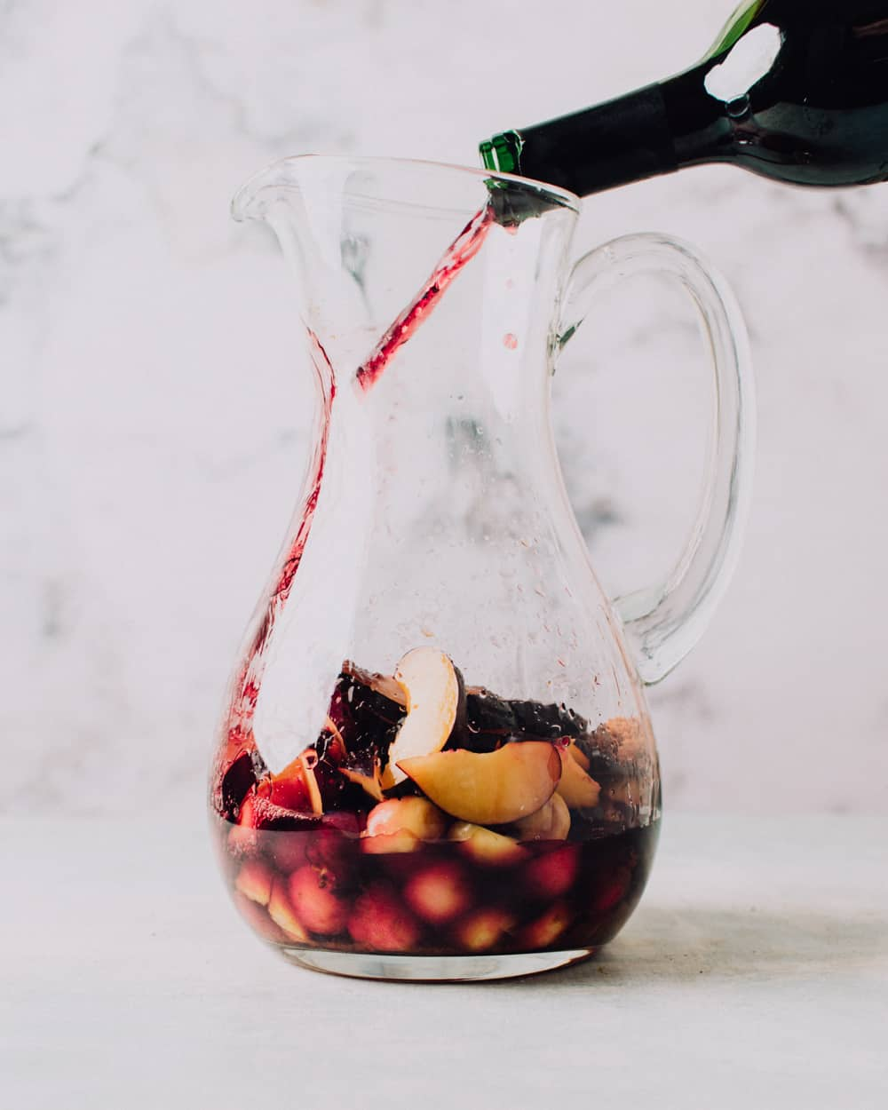 Stone Fruit Sangria Recipe | Foodess.com