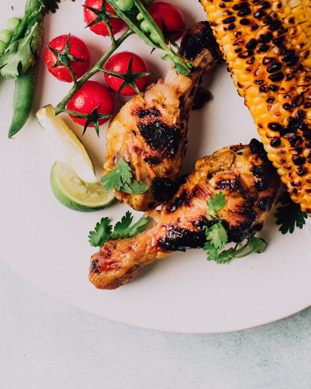Garlic & Lime Grilled Chicken | Foodess Recipes