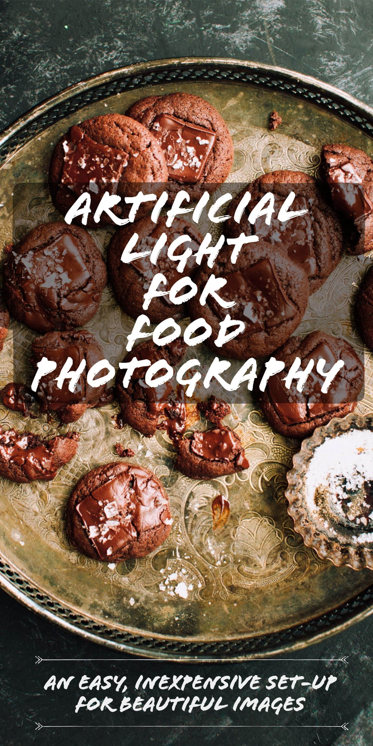 Artificial Light Food Photography