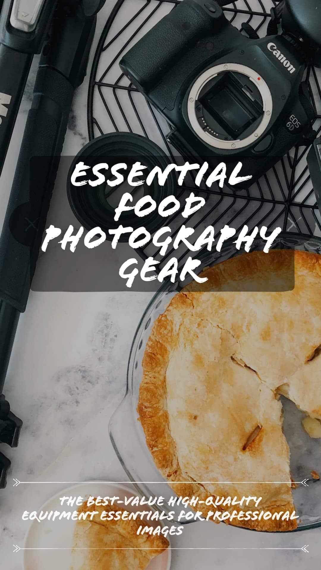 Food Photography Equipment