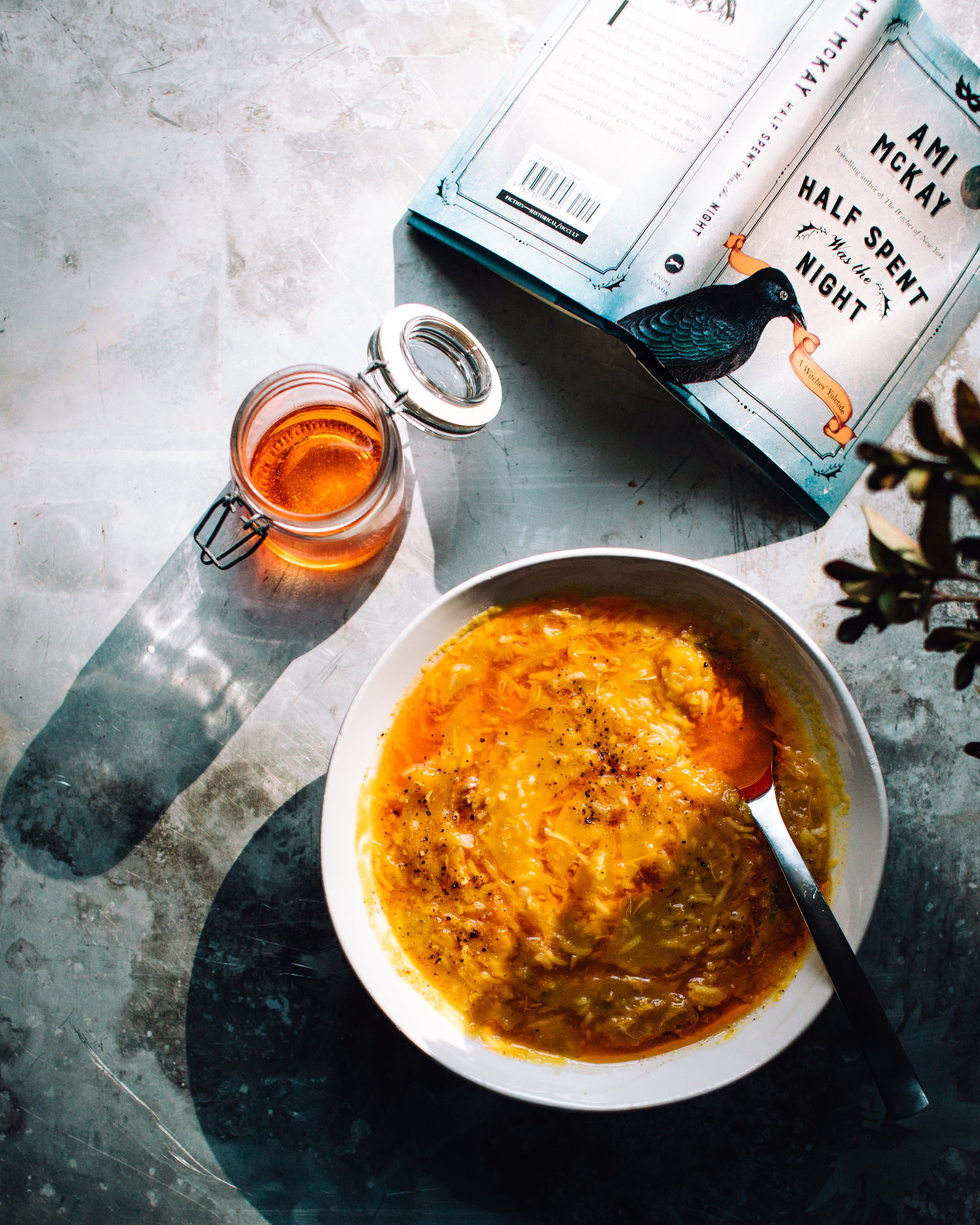 Pumpkin Soup with Ginger and Rice | Foodess Recipe