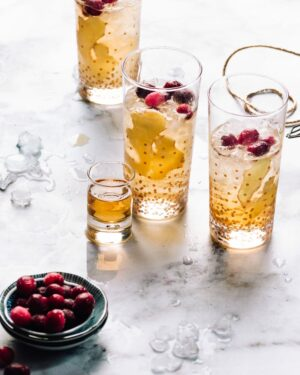 Ginger Cocktail Recipe | Foodess