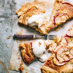 Apple Tart with Almond Frangipane | Foodess Recipe