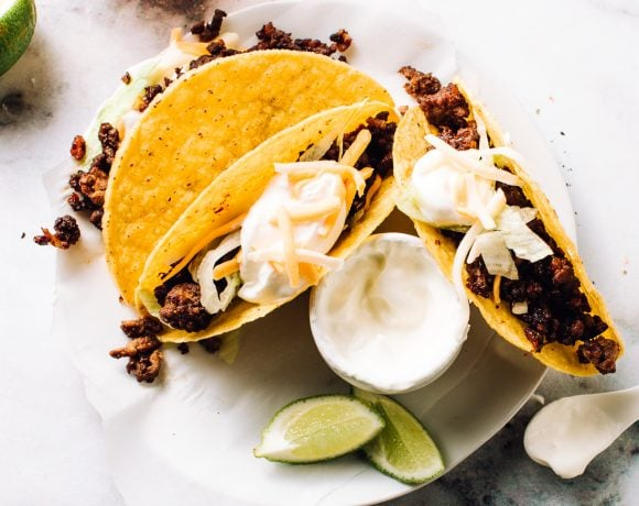 Ultimate Ground Beef Tacos