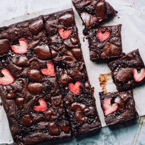 Strawberry Brownie Recipe