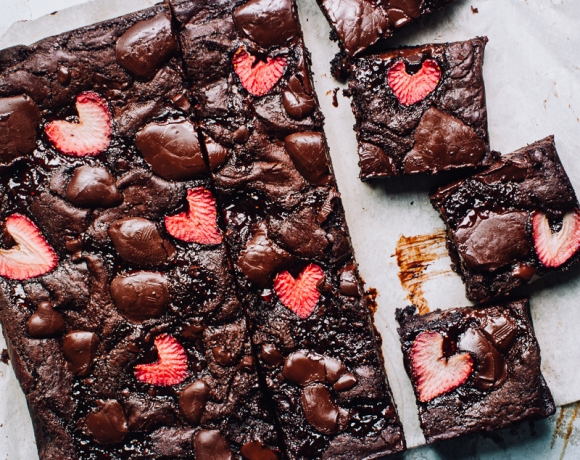 Strawberry Brownie Recipe