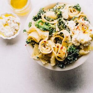 Spinach Ricotta Pasta Recipe