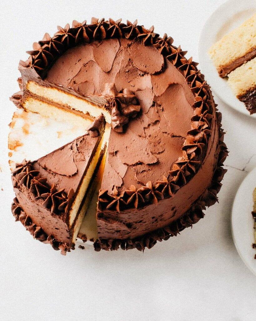 The Best Moist Vanilla Cake Recipe