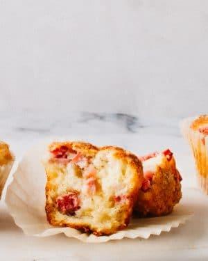 Healthy Rhubarb Muffin Recipe