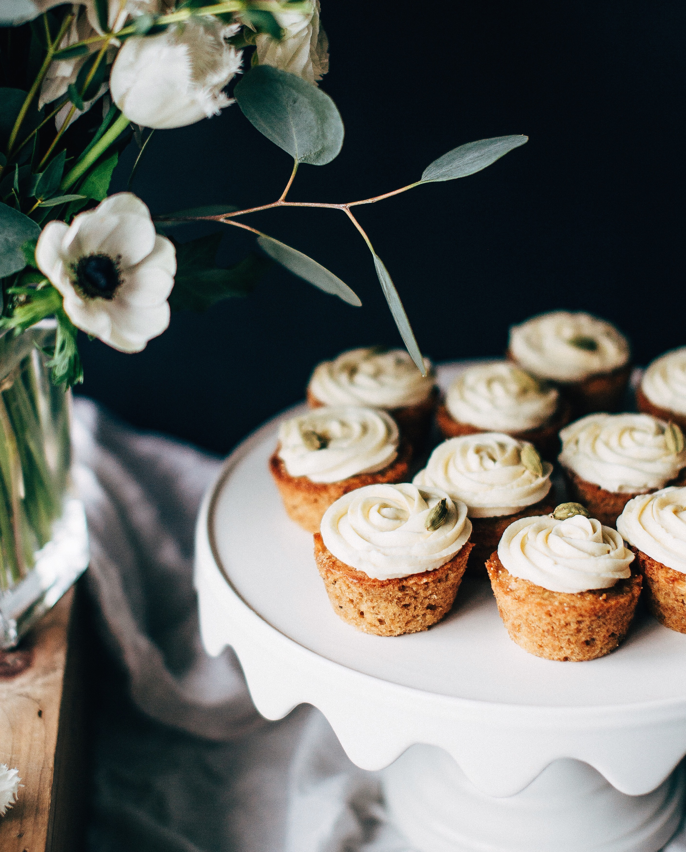 Spiced Parsnip Cupcakes with Cream Cheese Frosting Recipe ...